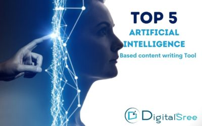 Top 5 AI based content writing tools to create better contents.