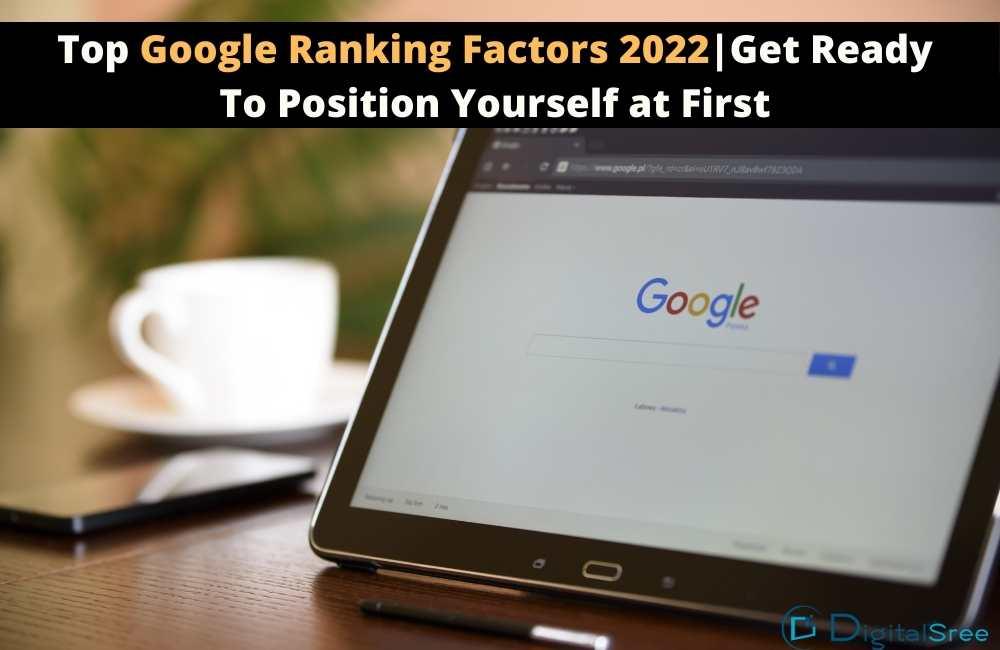 Google ranking factors 2022